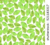watercolor seamless eco pattern. | Shutterstock . vector #521183317