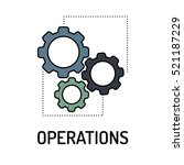operations line icon | Shutterstock .eps vector #521187229