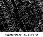 abstract architectural 3d... | Shutterstock . vector #52119172