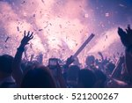 abstract background party... | Shutterstock . vector #521200267