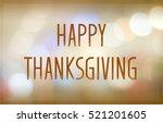 Happy Thanksgiving On Blur...