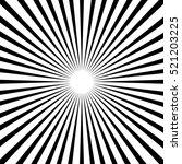 speed radial line background | Shutterstock .eps vector #521203225