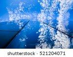 skyscraper and sky | Shutterstock . vector #521204071