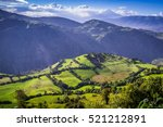 Green Andean Landscape In...
