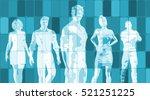 business people success... | Shutterstock . vector #521251225