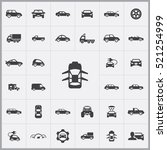 car icon. car icons universal... | Shutterstock .eps vector #521254999