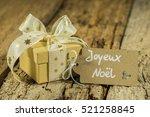 Christmas Gift Box With Ribbon...