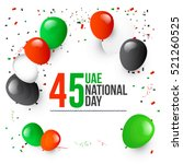uae national day celebration... | Shutterstock .eps vector #521260525