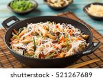 Rice Noodles With Chicken ...