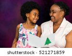 close up portrait of african...   Shutterstock . vector #521271859