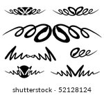 design elements | Shutterstock .eps vector #52128124
