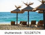 black sea beach | Shutterstock . vector #521287174