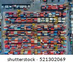 container container ship in... | Shutterstock . vector #521302069