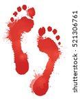 illustration of red blood... | Shutterstock .eps vector #521306761