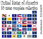 united states of america... | Shutterstock .eps vector #52133659