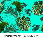 beautiful seamless vector... | Shutterstock .eps vector #521337979