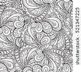 vector black and white... | Shutterstock .eps vector #521347225