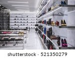 luxury shoes and handbags in a...   Shutterstock . vector #521350279