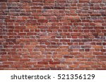old red brick wall texture... | Shutterstock . vector #521356129