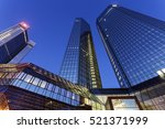 modern architecture of downtown ... | Shutterstock . vector #521371999