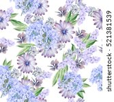 seamless pattern with beautiful ...   Shutterstock . vector #521381539