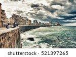 havana  cuba  oct 24  2016 ... | Shutterstock . vector #521397265