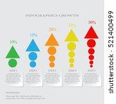 modern design for business... | Shutterstock .eps vector #521400499