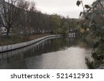 landwehr canal berlin | Shutterstock . vector #521412931