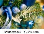 blurred silver single white... | Shutterstock . vector #521414281