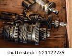 dismantled box car... | Shutterstock . vector #521422789