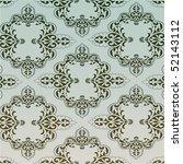 retro wallpaper | Shutterstock .eps vector #52143112
