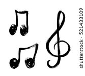 A Set Of Music Notes Icon....