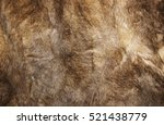 Natural Fur Texture Closeup.