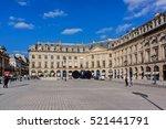paris  france   september 07 ... | Shutterstock . vector #521441791