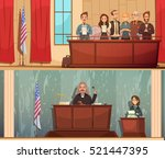 american law and justice 2... | Shutterstock .eps vector #521447395