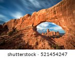 View Of Turret Arch From The...