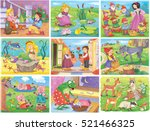 Set Of Fairy Tale Pictures....