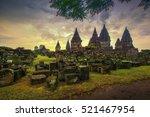 candi prambanan is a 9th...   Shutterstock . vector #521467954