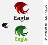 eagle logo  vector logo template | Shutterstock .eps vector #521472109