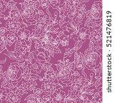 lace pattern | Shutterstock .eps vector #521476819