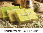 collection of handmade  natural ...   Shutterstock . vector #521478409