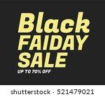black friday sale vector... | Shutterstock .eps vector #521479021