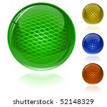 glossy colorful abstract... | Shutterstock .eps vector #52148329