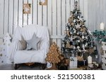 a beautiful living room... | Shutterstock . vector #521500381