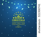 greeting card light background. ... | Shutterstock .eps vector #521500741