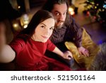 young happy couple taking a... | Shutterstock . vector #521501164