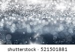 magic blue holiday abstract... | Shutterstock . vector #521501881