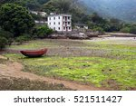 Low Tide In Abandoned Village...