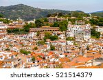 aerial view of taxco  mexico.... | Shutterstock . vector #521514379