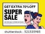 """get extra 70  off. super sale. ... | Shutterstock .eps vector #521535985"